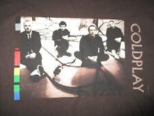 2005 COLDPLAY Concert Tour (LG) T-Shirt CHRIS MARTIN