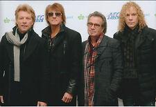 Tico TORRES SIGNED Autograph 12x8 Photo AFTAL COA Bon Jovi Living On A Prayer