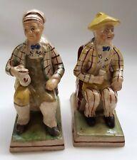 New ListingAntiqueTam O'Shanter and Souter Johnnie Staffordshire Figurines Excellent Condit