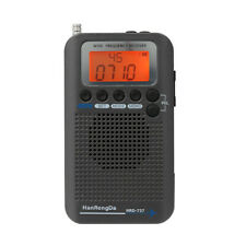 Portable Full Band Radio Aircraft Band Receiver FM/AM/SW/ CB/Air/VHF LCD Display