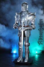 Ritter 185cm Ritterrüstung mit Schwert und Sockel