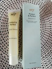 No7 boots Protect & Perfect Hypo-Allergenic Beauty Serum. 30ml. New.