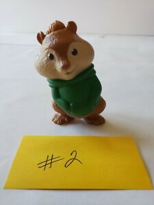 McDonald's Happy Meal Toys Alvin and the Chipmunks Squeakquel Theodore Talking