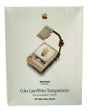 New listing Apple Color LaserWriter Projector Transparencies New Vtg 90s Geek Sealed Supply