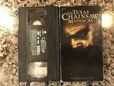 The Texas Chainsaw Massacre Vhs! Awesome 2003 Slasher!
