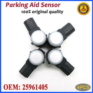 4X 25961405 Parking Assist Sensors PDC For 08-16 GM Chevrolet Cadillac GMC Buick