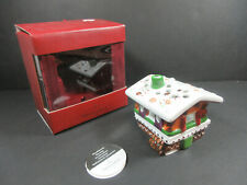 VILLEROY & BOCH GERMANY MINIATURES HOLZHAUS WOOD HAUS CERAMIC CANDLE HOLDER