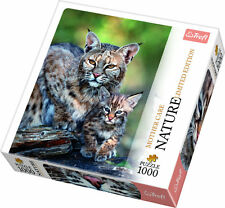 Trefl Puzzle 1000 Teile Nature Ltd. Edition: Rotluchs (10513) Wildkatze