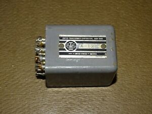 UTC A-12 Audio Input Transformer for a Tube Amplifier, Good