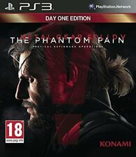 Metal Gear Solid V the Phantom Pain Edition Day One Jeu Ps3 Konami