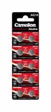 Camelion AG10 1,5V Alkaline Piles Jetables - 12051010
