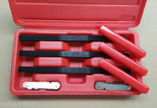 Toledo Thread File Set Metric UNF UNC 301068 Bolt Shaft Spindle Restore Tool Kit
