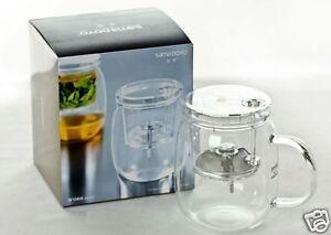 Glass Tea Cup Filtered Tea Cup Tea Maker Designer Tea Cup Office Cup 600ml