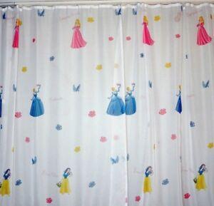 -187-  Kinderzimmer Gardine Prinzessin Gardinen   Store Vorhang