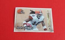 2012 Panini Football Josh Cribbs Foil Sticker #94***Cleveland Browns***