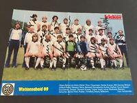 WATTENSCHEID 09 1982/83 signed signiert Magazinseite kicker 20x29 Autogramm