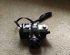 Canon Ftb Ql 35mm Slr Film Camera with 50mm F/1.8 Fast Prime Lens