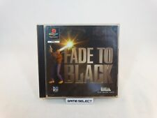 FADE TO BLACK LABEL PRIMA STAMPA PLAYSTATION 1 PS1 PS2 PS3 PAL ITALIANO COMPLETO