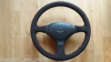Toyota MR2 (SW20)  - steering wheel genuine alcantara - RETRIMMING SERVICE