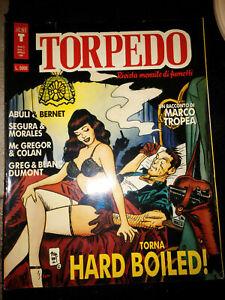 fumetto TORPEDO ANNO II NUMERO 7 APRILE 1991