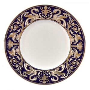 """WEDGWOOD Renaissance Gold Scroll Accent Salad Plate 9"""" Set of 4"""