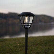LED Solar Leuchte Felix in Schwarz 450 mm Garten Lampe Leuchte Wegelampe