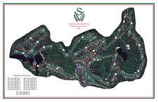Sage Valley Golf Club - 1999 Tom Fazio- Vintage Golf Course Maps print