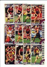 2013 TeamCoach Melbourne Gold team set 12 cards Team Coach