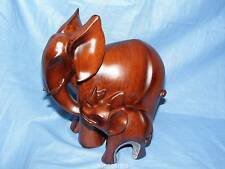 Gleneagles Studio Rosewood Collection Elephant Elamma Figure Present Gift 2071