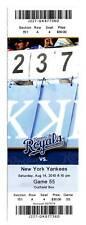 Alex Rodriguez Home Run 602 603 604 Yankees 8/14 Ticket