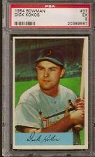 1954 Bowman # 37 Dick Kokos EX PSA 5