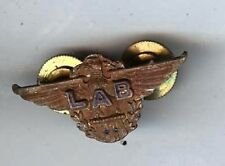 old mini cap badge Flight Engineer Second Officer WINGS