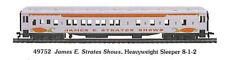 Ho James E Strates Shows Circus 8-1-2 Sleeper Pass Car