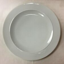"""DENBY """"WHITE BY DENBY"""" DINNER PLATE 11 1/2"""" PORCELAIN NEW MADE IN ENGLAND"""