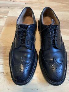 Church's Grafton UK 8.5 G US 9  Black Leather Wingtip Brogue Oxford Shoes