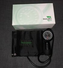 Welch Allyn Tycos Silver Ring Hand Held Aneroid Sphygmomanometer 5098 27 Withbox