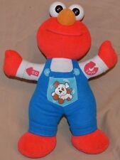 "12"" Radio Control Elmo & Puppy 1997 Mattel Tyco Sesame Street Jim Henson Company"
