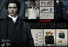HOT TOYS SLEEPY HOLLOW ICHABOD CRANE JOHNNY DEPP 1:6 FIGURE ~Sealed Brown Box~