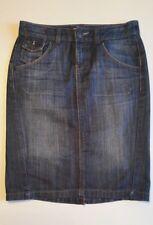 Mango, Jeans Rock, Damen, Gr.34