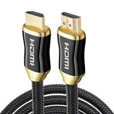 Super-FAST Powerful HDMI V2.1 Cable CL3 Rated Jacket - [50FT / 50 Feet  / 15M]