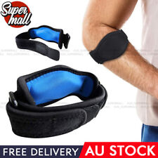 Adjustable Tennis Elbow Support Brace Strap Band Forearm Protection Pain Relief