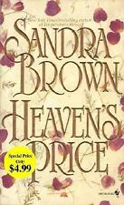 SANDRA BROWN Heaven's Price  (Paperback)*CHEAPEST ON EBAY*FREE SHIPPING*