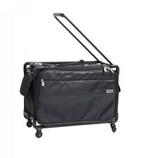 """Tutto luggage 4-wheel roller suitcase - office on wheels - EUC - 21"""" long"""