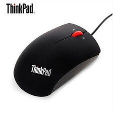 Lenovo ThinkPad Mouse Mice USB Black Wired Optical Mouse For Laptop Computers PC