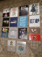 """Game Stop Card Stock 10""""x12"""" Advertising Promo Display Posters Lot of 14"""
