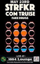 STRFKR / COM TRUISE/FAKE DRUGS 2016 MEMPHIS CONCERT TOUR POSTER - Indie Rock/Pop
