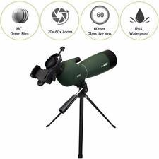 Svbony SV28 Spektiv 20-60x60 BAK4 Wasserdicht MC Zoom Teleskop+Handy Adapter DE