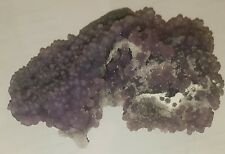 Top A+++ 362g GRAPE CHALCEDONY Indonesia Mineral Specimen Bubbly Purple Agate