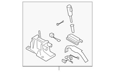 Genuine Ford Shifter Assembly 9L2Z-7210-AB