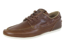 Lacoste Men's Marina-119 Tan/Off White Sneakers Boat Shoes